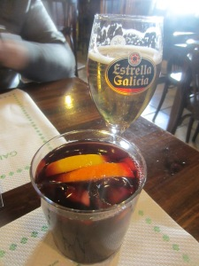 Sangria and beer for a walk well done.