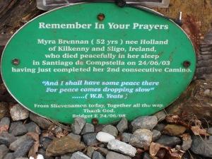 Remembering a fellow pilgrim
