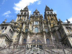 We made it! - Cathedral Santiago de Compostela