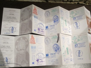 Pilgrims Passport