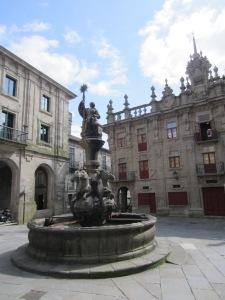 One of a million Cervantes statues